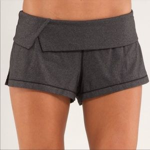 Lululemon It's Getting Hot In Here Shorts Grey 4